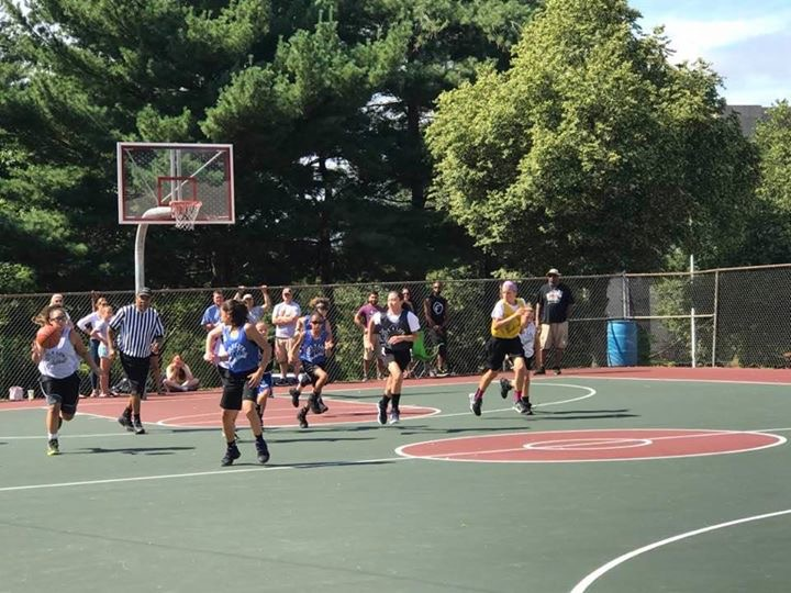 Middle school girls All-star game